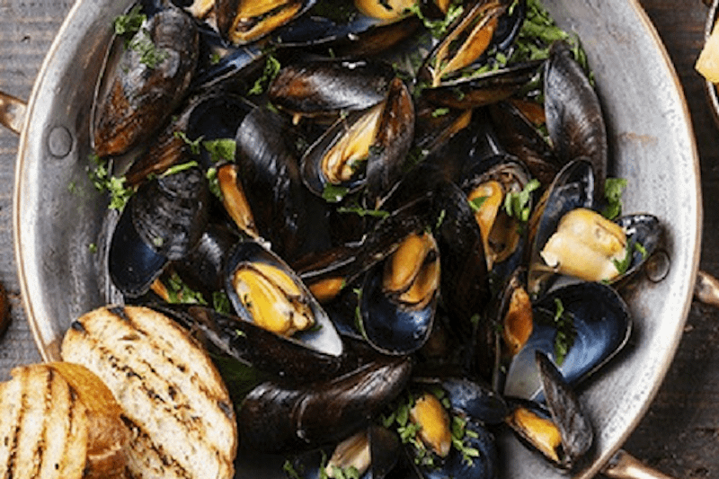 New At It Rains Fishes: The Mussel Pan