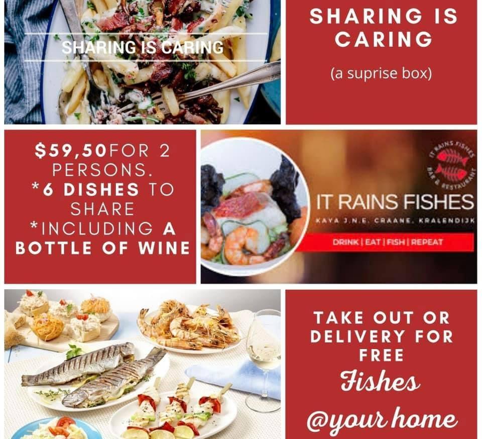 Sharing is Caring Surprise Box take away