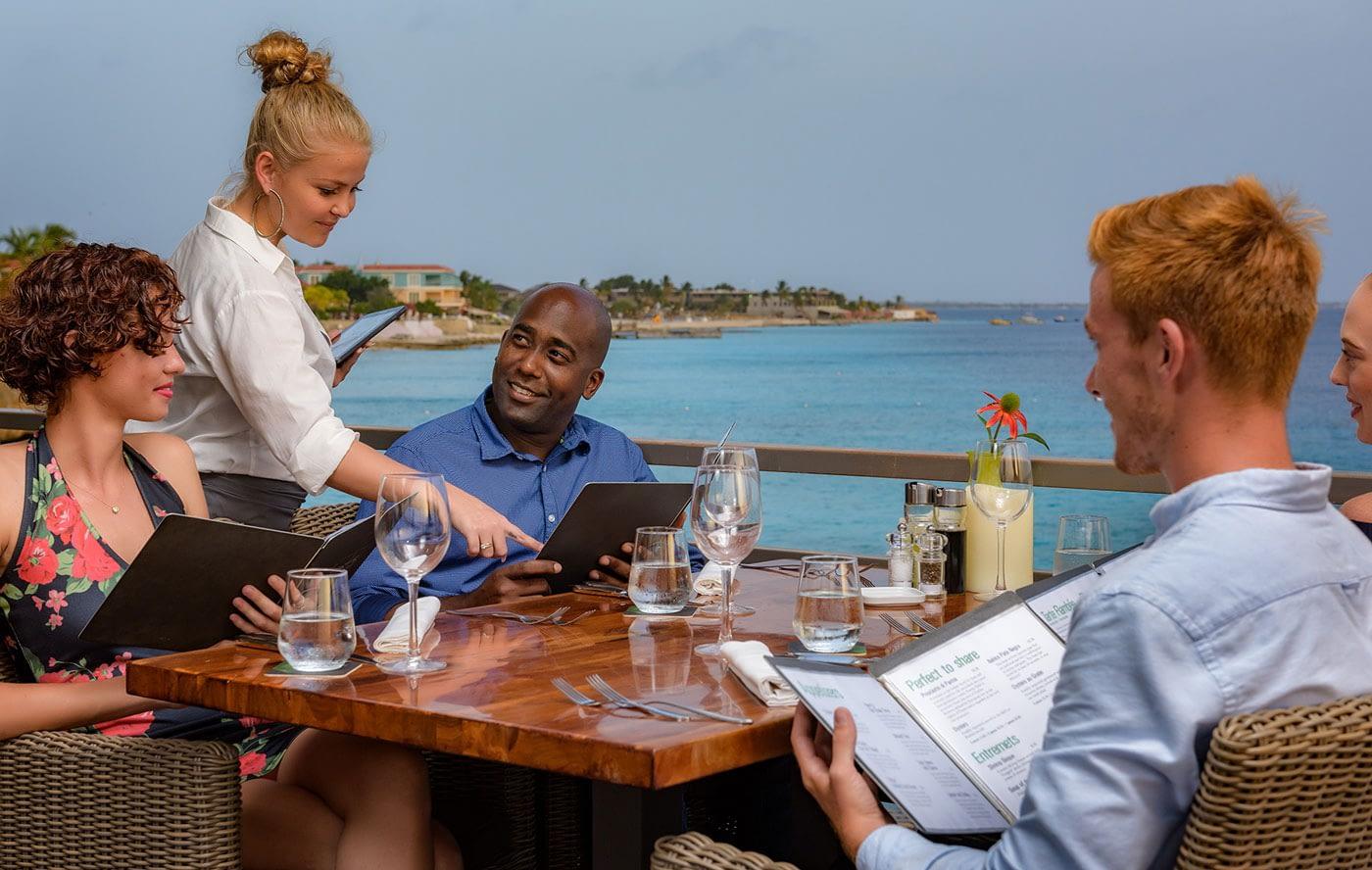 Ingridiënts Restaurant at Buddy Dive on Bonaire